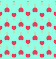 ice cream seamless pattern background fruit vector image vector image