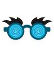 joke glasses isolated vector image