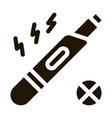 negative pregnancy test icon vector image vector image