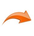 orange next shiny 3d arrow