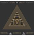 Set of geometric hipster shapes 9znkl72211black vector image vector image