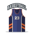Tshirt of Basketball sport design vector image