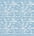 sea background with blue waves and white strokes vector image