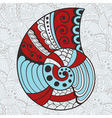 Abstract Bright Shell vector image vector image