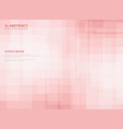 abstract gradient pink square pattern background vector image vector image