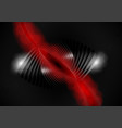 abstract red and black background vector image