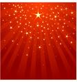 Christmas Shooting Star vector image vector image
