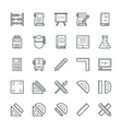 Education Cool Icons 1 vector image vector image