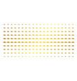 fast delivery car golden halftone grid vector image vector image