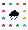 isolated rainy icon raindrop element can vector image vector image