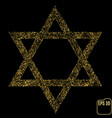 judaism david jewish israel star seal of solomon vector image