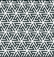 pattern of a triangular ornament vector image