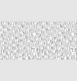 snake skin stylized pattern white texture vector image vector image