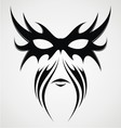 Tribal Mask vector image vector image