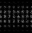 abstract black and white deco art print halftone vector image vector image
