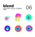 abstract chaotic shape form for your design vector image vector image