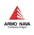 Armo Nava Logo vector image