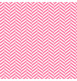 chevron background red and white stripped vector image vector image