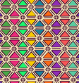 Ethnic geometric seamless pattern vector image vector image