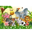 Funny animal cartoon vector | Price: 3 Credits (USD $3)