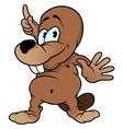 Little Beaver vector image vector image