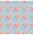 pacifier pattern vector image