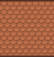 rotile texture pattern rooftop vector image