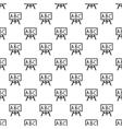 School board pattern simple style vector image vector image