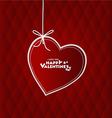 Valentines hearts card