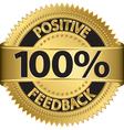 100 percent positive feedback gold label