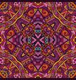 abstract festive colorful mandala ethnic vector image vector image
