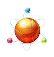 Atom vector image vector image