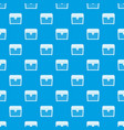chest pattern seamless blue vector image vector image