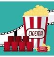 Cinema and Movie design vector image vector image