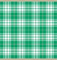 cyan tartan plaid seamless pattern vector image vector image