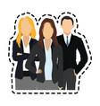 faceless business people icon image vector image vector image