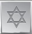 Jewish star vector image vector image
