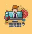people creative process vector image