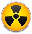 radiation symbol on circle element vector image