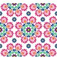 Seamless floral Polish folk art pattern - Wzory Lo vector image vector image