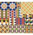 Seamless patterns Set in Moroccan style vector image vector image