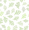 seamless texture of dill vector image vector image