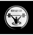 weightlifting and fitness vector image vector image