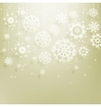 Abstract Christmas with snowflakes EPS 10 vector image vector image