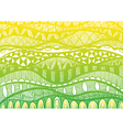 ethnic background of waves vector image