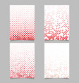 geometrical dot pattern page template background vector image vector image