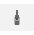 Lotion or Spray for Hair or Gel Element or Icon vector image vector image