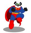 PandaMan3 vector image
