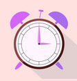 the dial of the alarm clock vector image vector image