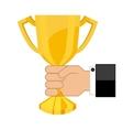 winner icon vector image vector image